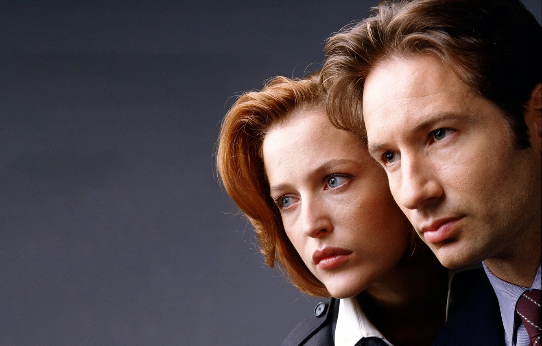 Фото обои сериал, The X-Files, Секретные материалы, Дана, Скалли