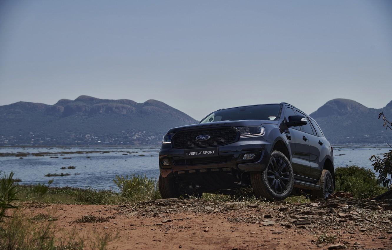 Фото обои Ford, внедорожник, Sport, Everest, 4WD, 2021