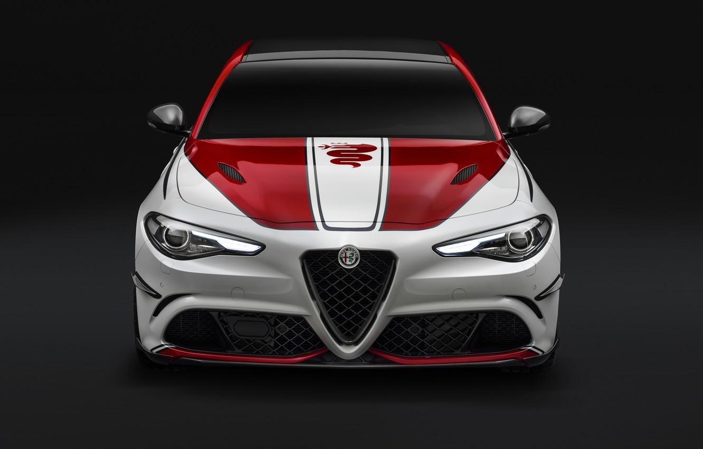 Фото обои Alfa Romeo, Quadrifoglio, Giulia, 2019, Alfa Romeo Racing