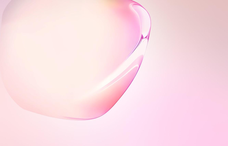 Фото обои pink, bubble, samsung