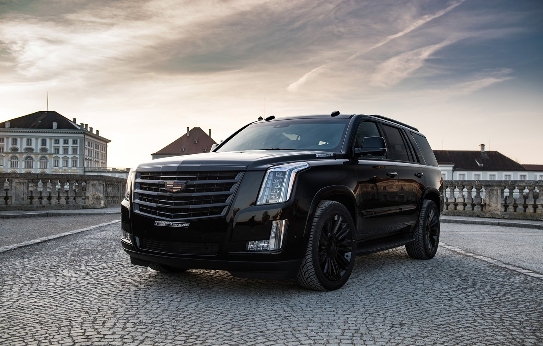Фото обои Black Edition, Cadillac Escalade, Geiger Cars Cadillac Escalade Black Edition, Geiger Cars