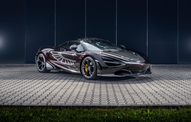 Фото обои McLaren, суперкар, 2018, Manhart, 720S, Carlex Design