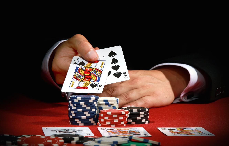 Фото обои карты, игра, фишки, казино