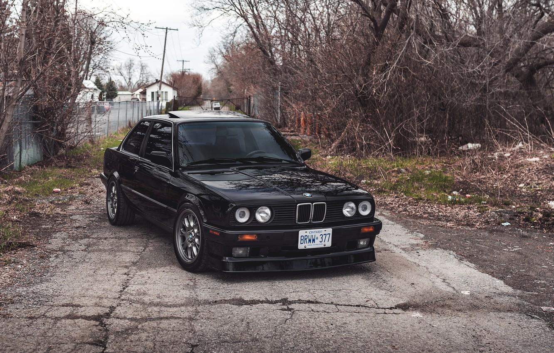 Фото обои купе, BMW, БМВ, E30, 3-series, BMW E30