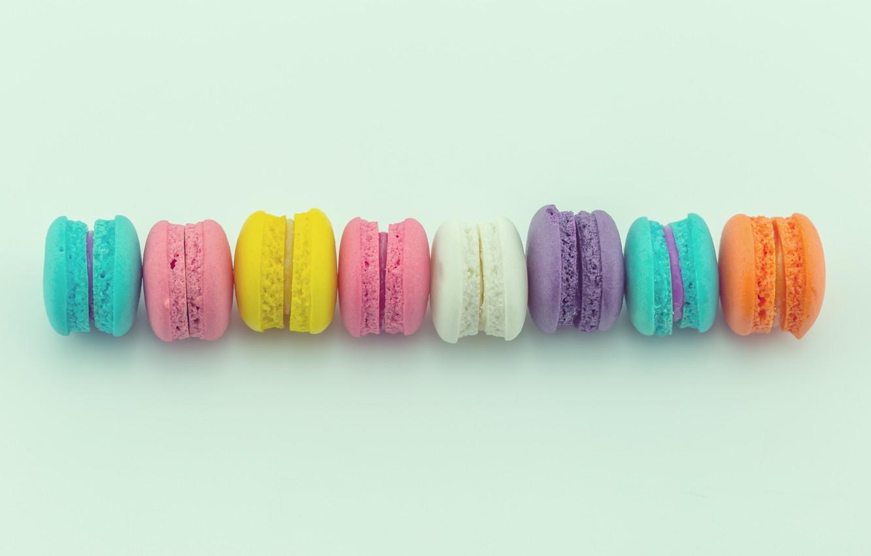 Фото обои colorful, десерт, pink, пирожные, сладкое, sweet, dessert, bright, macaroon, french, macaron, макаруны