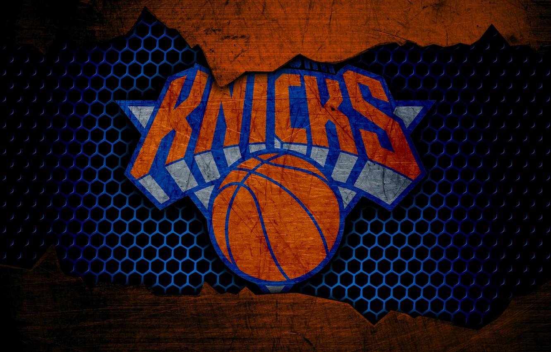 Фото обои wallpaper, sport, logo, basketball, NBA, New York Knicks