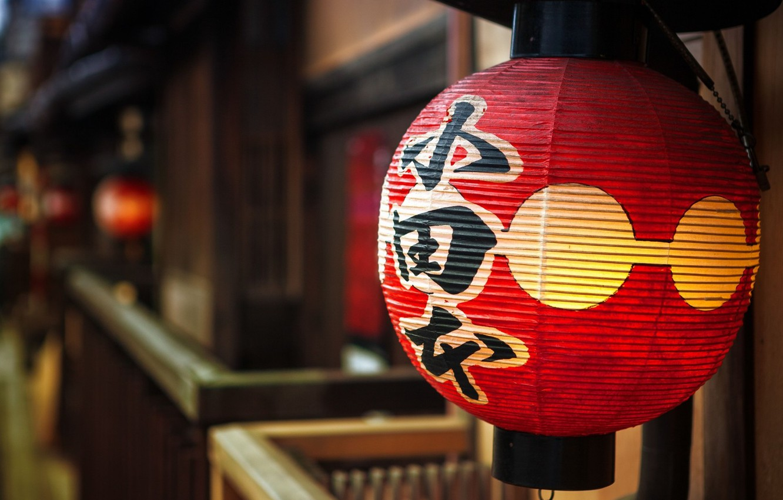 Фото обои Light, Wallpaper, Lamp, Japanese latern