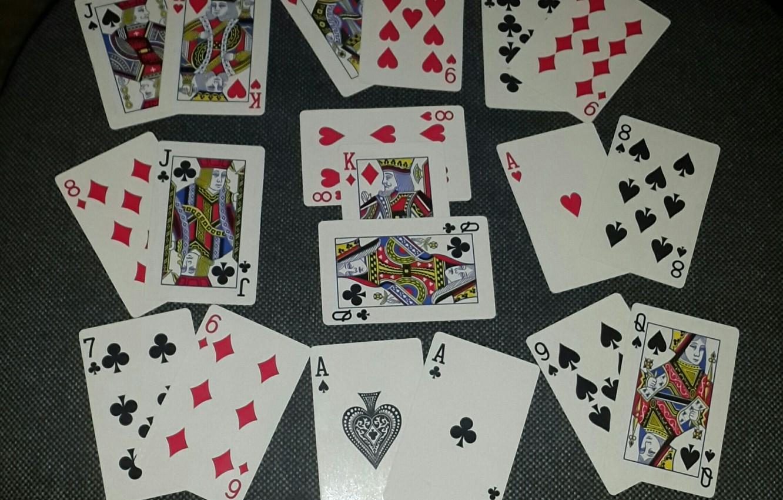 Фото обои карты, игра, колода