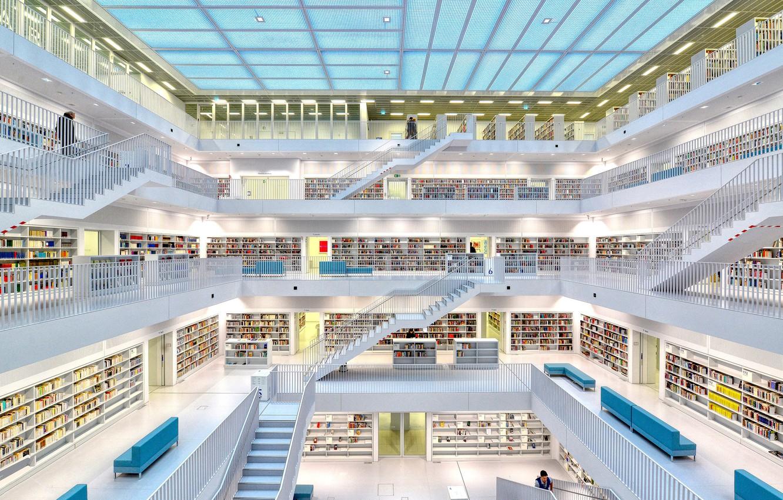 Фото обои книги, библиотека, books, library, Anette Ohlendorf