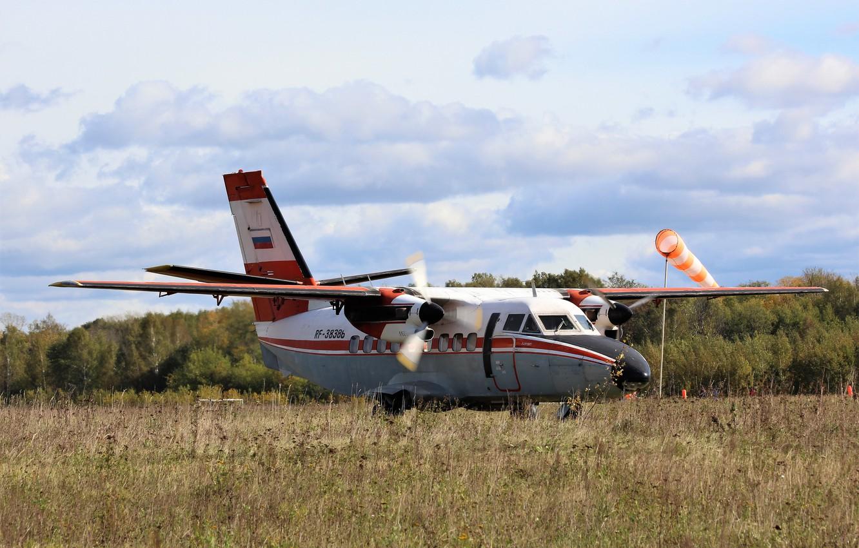 Фото обои Самолёт, Своё фото, L-410UVP, L-410, L410 UVP, Let L-410 «Turbolet», «Turbolet», Л-410УВП