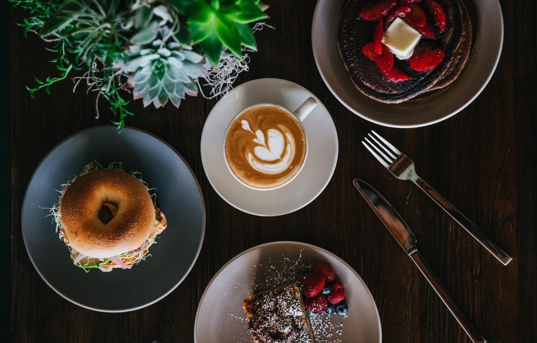 Обои кофе. Еда foto 7