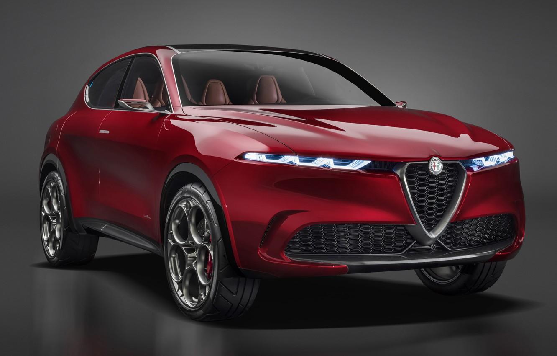 Фото обои Concept, Alfa Romeo, Tonale