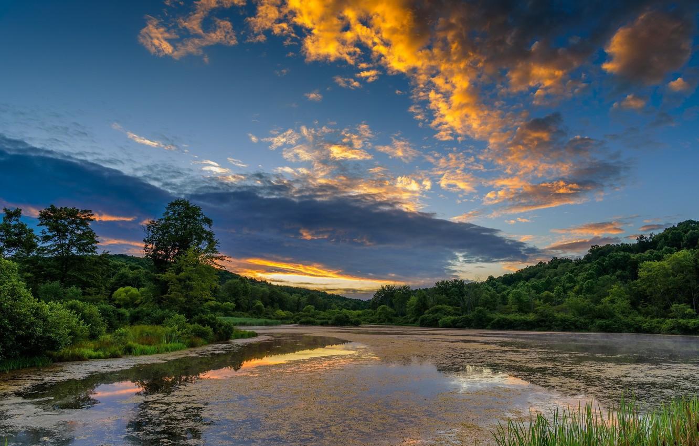 Фото обои Небо, Природа, Пейзаж