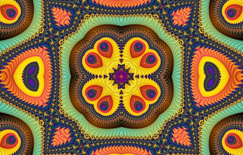 Обои узор, Коричневый цвет, Завитушка. Абстракции foto 10