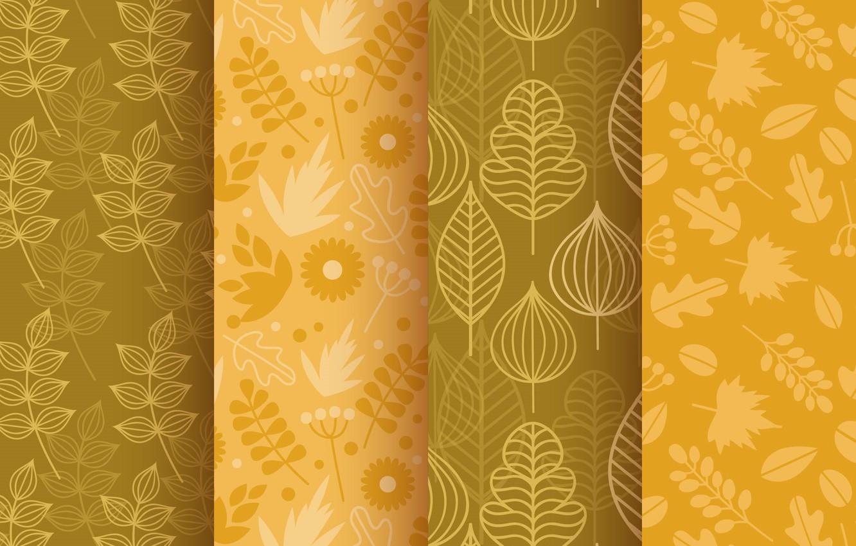 Фото обои осень, фон, текстура, листочки, patterns, elements, Colors, Leaves, autumnal