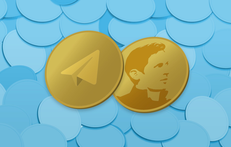 Фото обои монета, fon, coin, криптовалюта, telegram, cryptocurrency, durov, телеграм, ton