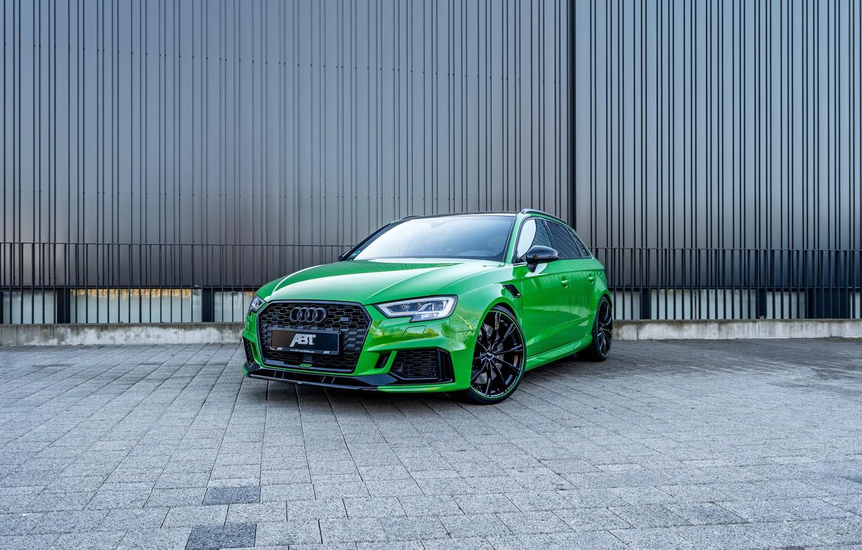 Фото обои Audi, ABT, Sportback, RS3