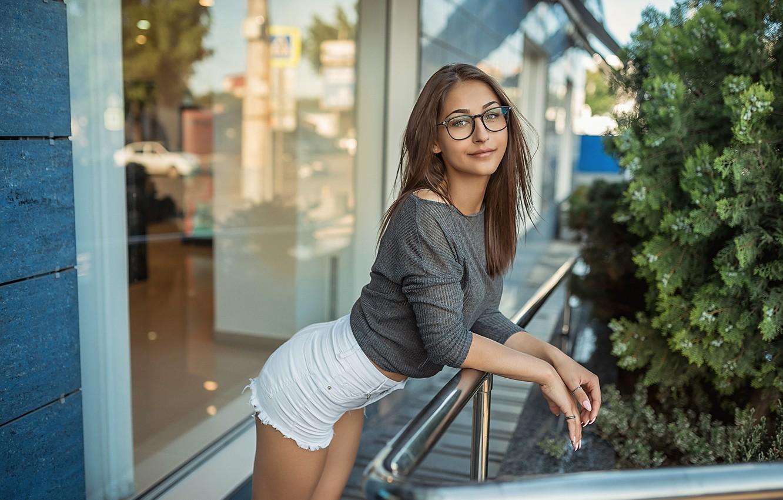Фото обои shorts, smile, pretty, Георгий Дьяков