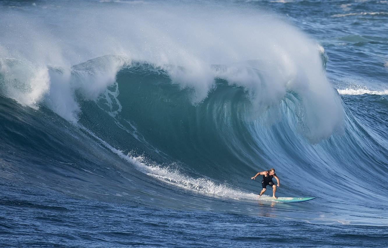 Фото обои волна, серфер, wave, surfer, David H Yang