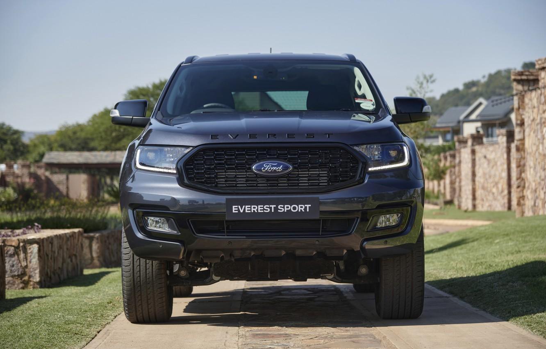 Фото обои Ford, перед, Sport, Everest, 4WD, 2021