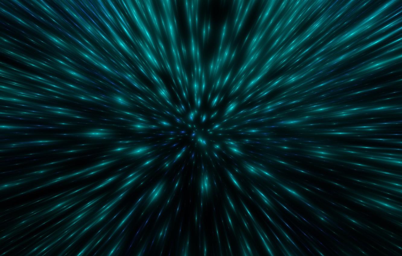 Фото обои свет, погружение, космический взрыв