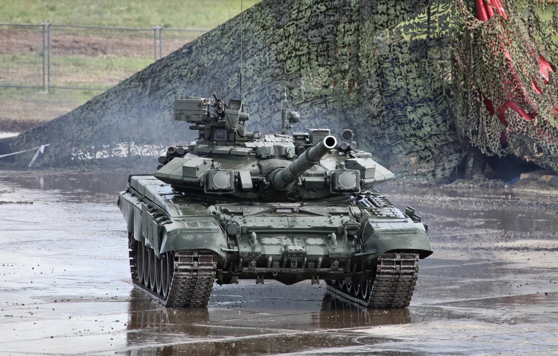 Фото обои Танк, Армия России, (ОБТ), Основной Боевой Танк, Танковые Войска, Вооруженные Силы, Т-90м