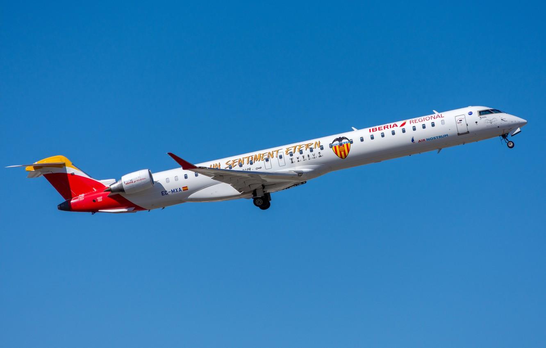 Фото обои Bombardier, Air Nostrum, CRJ-1000