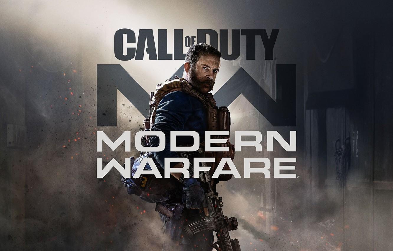 Фото обои шляпа, шутер, Call of Duty: Modern Warfare, Заглавный арт, ребут, перезапуск