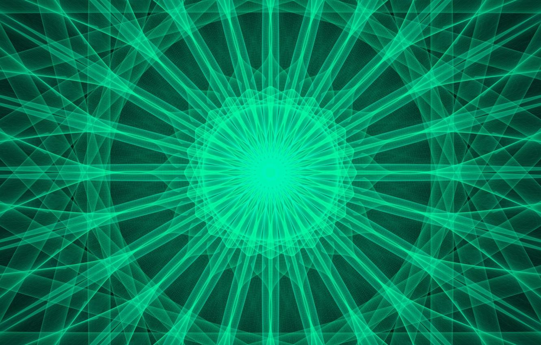 Фото обои линии, круги, узор, калейдоскоп