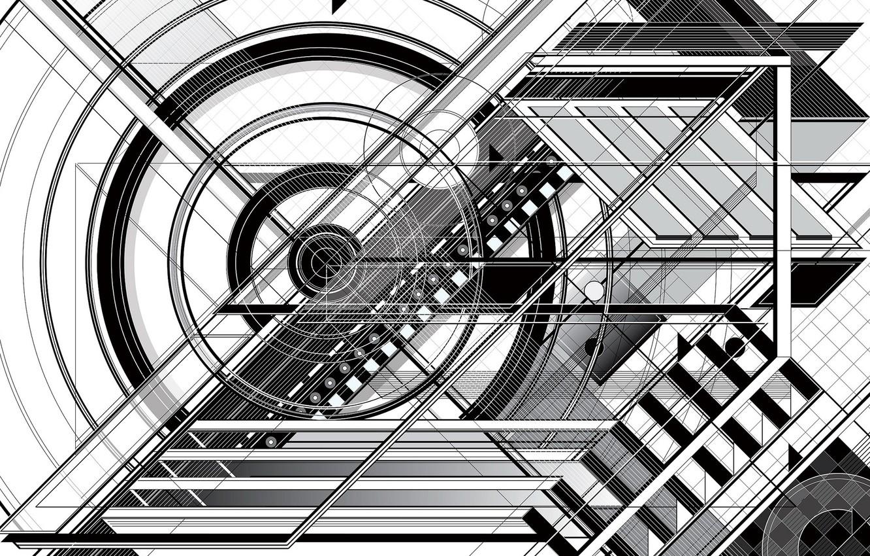 Обои архитектура, форма. Абстракции foto 12