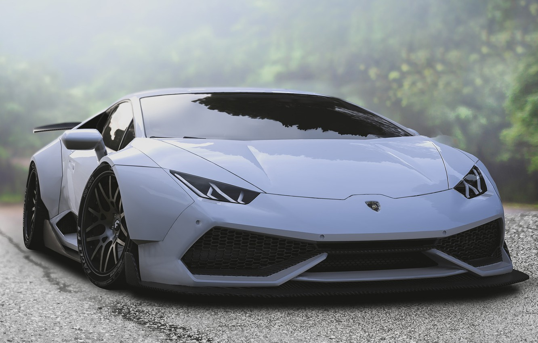 Фото обои Авто, Lamborghini, Белый, Машина, Art, Lambo, Lamborghini Huracan, Transport & Vehicles, by Hammad XIX, Hammad …
