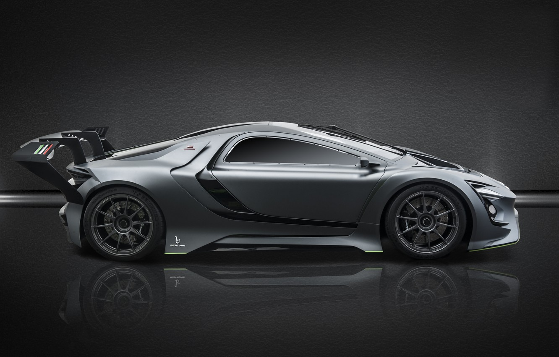 Фото обои вид сбоку, 2018, Bertone, Dianche, Dianche Bertone BSS GT One, BSS GT One
