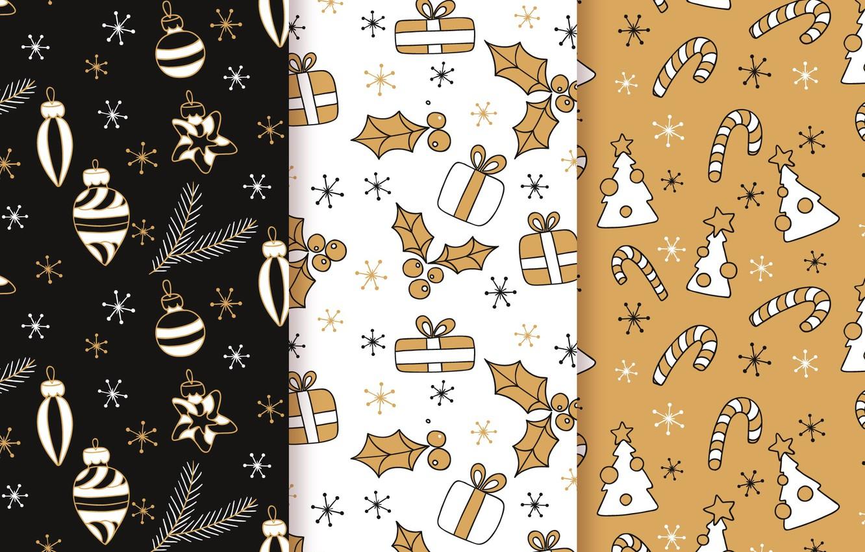 Фото обои фон, игрушки, текстура, christmas, pattern