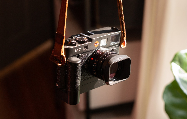 Фото обои фон, камера, Leica M
