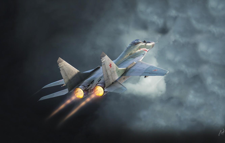 Обои Цвет, Самолёт, истребитель. Авиация foto 10