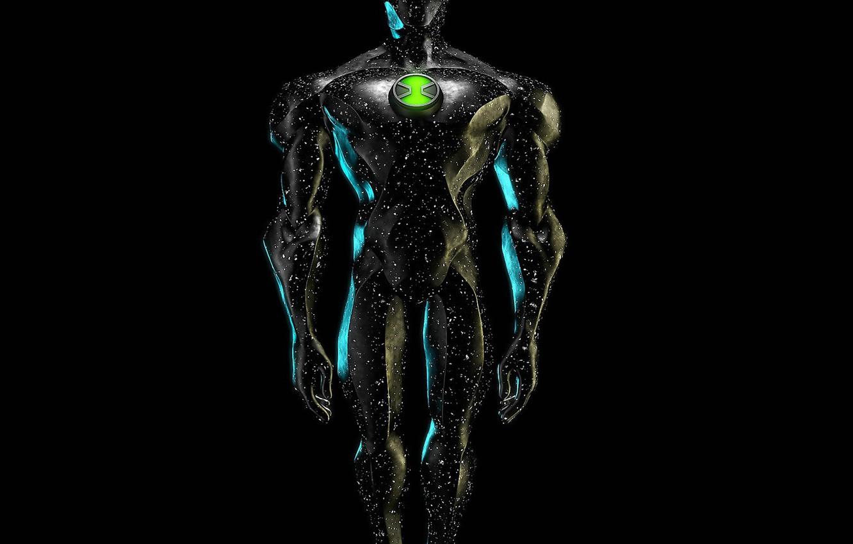 Фото обои пришелец, космическая бесконечноть, Hero X, Ben 10, небесный житель, Alien X, Герой икс, Небожитель