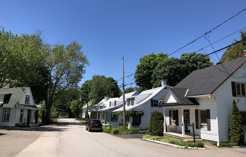 Фото обои Canada, Quebec, Village of Cap-Santé
