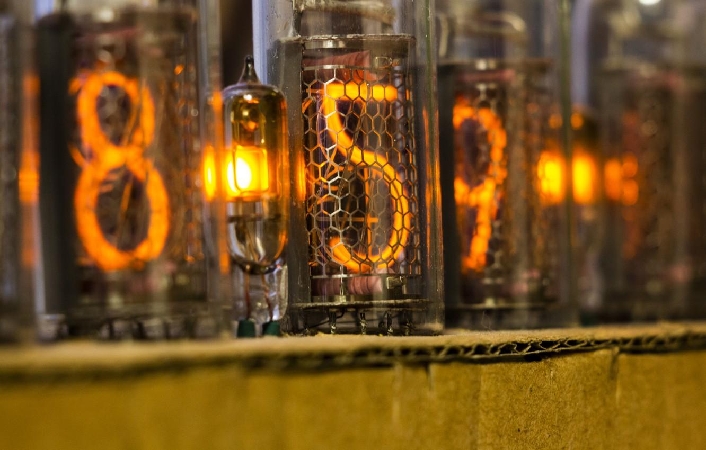 Фото обои время, часы, лампа