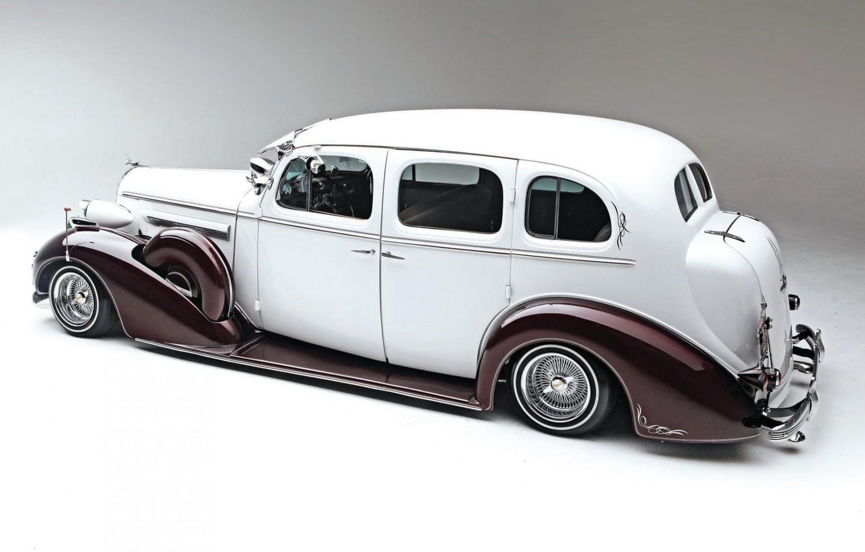 Фото обои Car, Old, Vintage, Lowrider, Custom