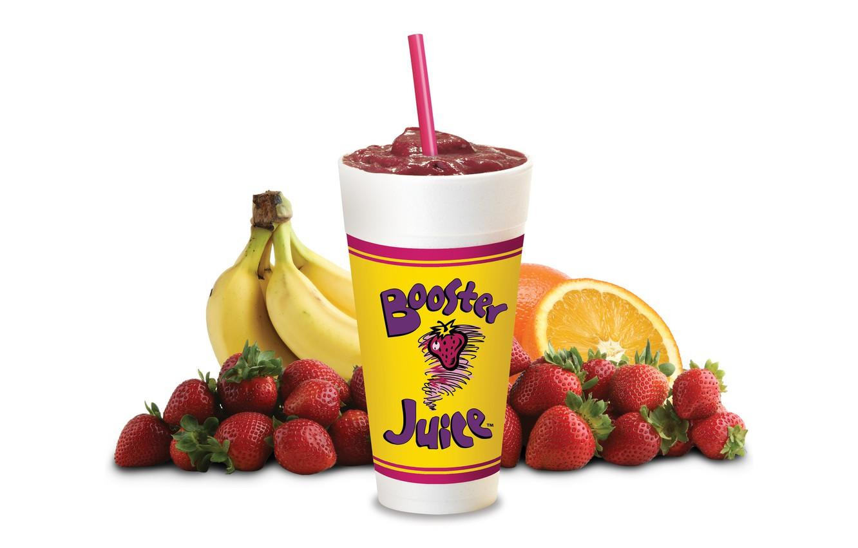 Фото обои стакан, апельсины, клубника, ягода, сок, бананы, белый фон, трубочка