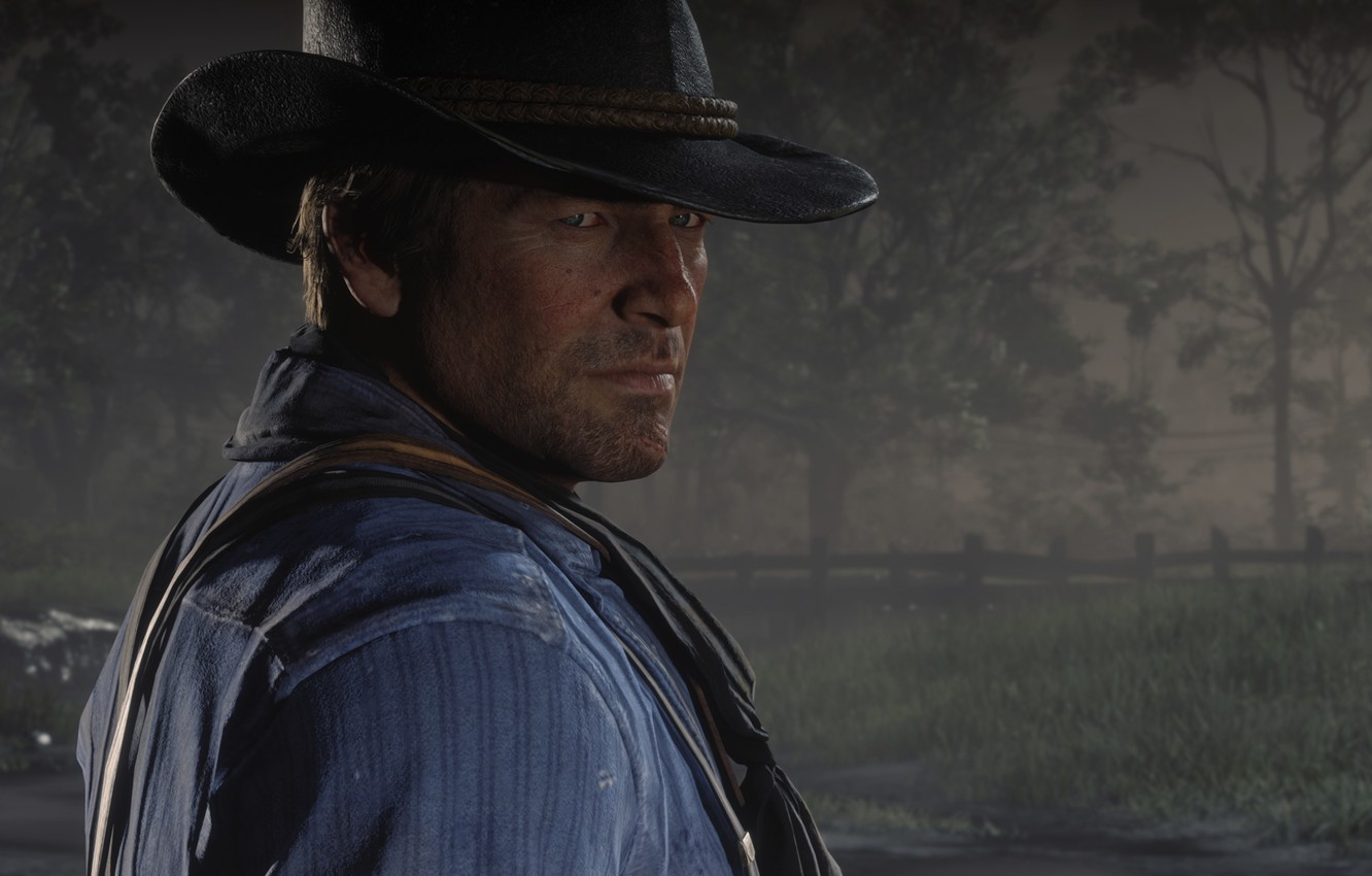Фото обои Game, Rockstar Games, Red Dead Redemption 2, Gang, RDR, Red Dead Redemption 2 PC