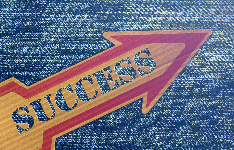 Фото обои надпись, табличка, успех, карьера, рост