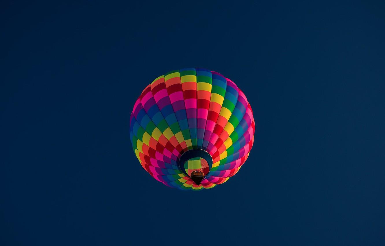 Фото обои небо, спорт, шар