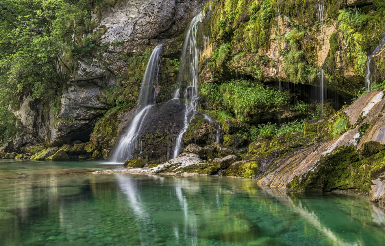 Водопад озеро картинки