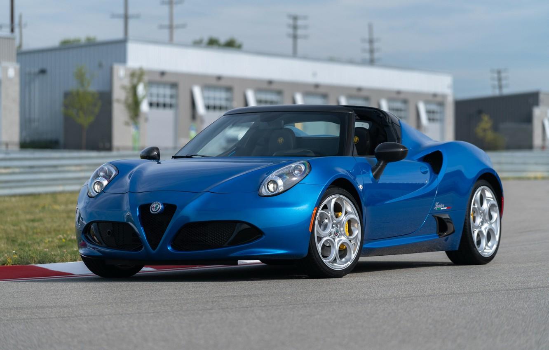 Фото обои spider, Alfa, Romeo, Alfa Romeo 4C SPIDER