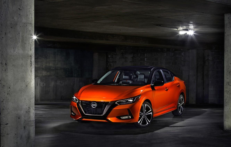 Фото обои Nissan, 2020, Sentra SR