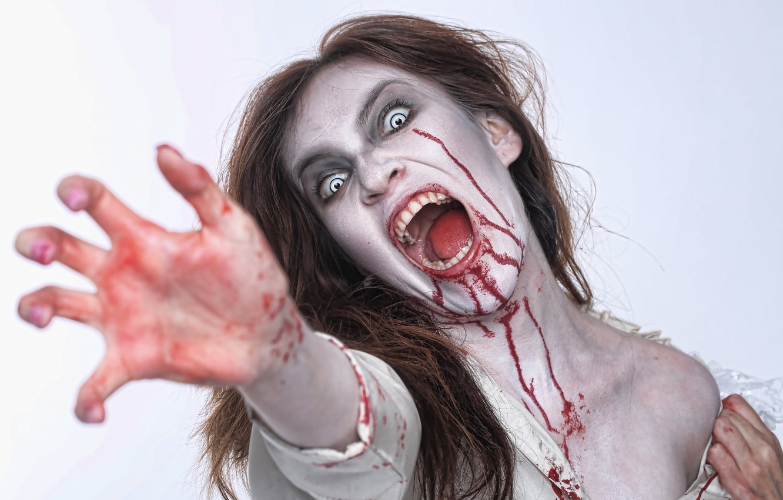 Фото обои blood, vampire, cosplay