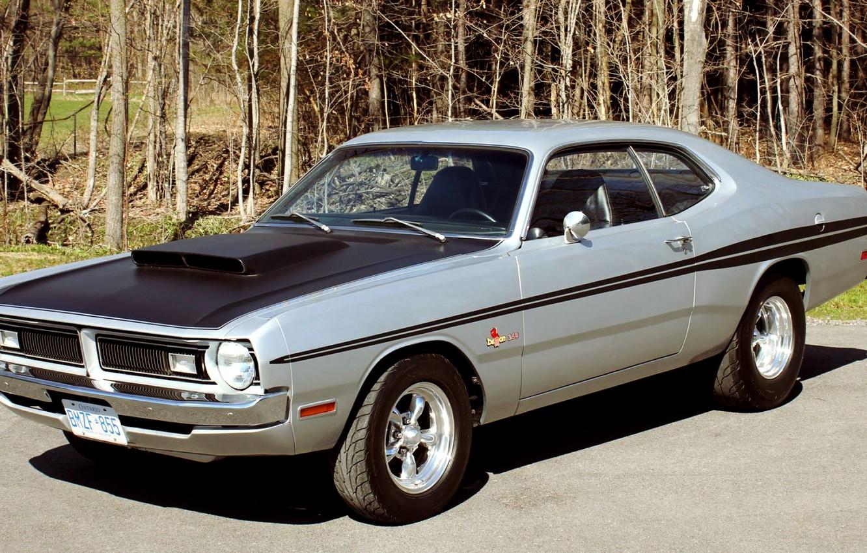 Фото обои Dodge, Coupe, Muscle car, Dodge Demon