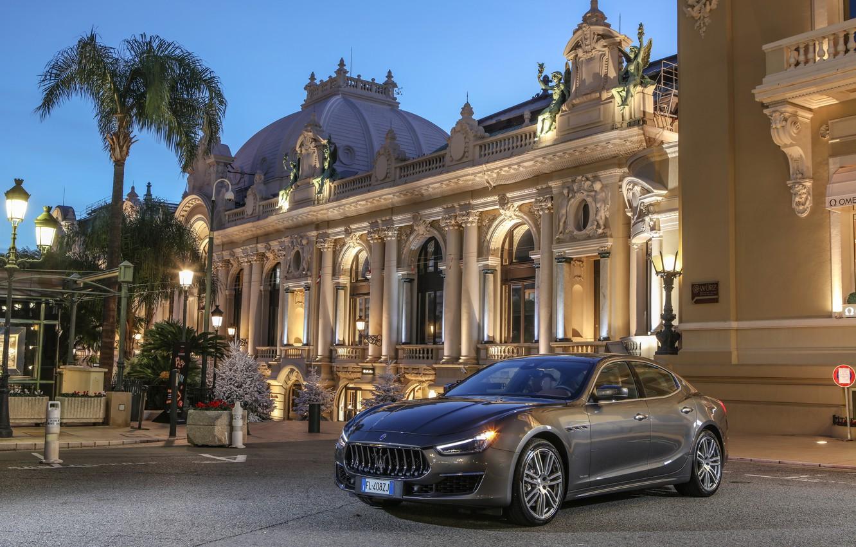 Фото обои Maserati, Ghibli S, GranLusso