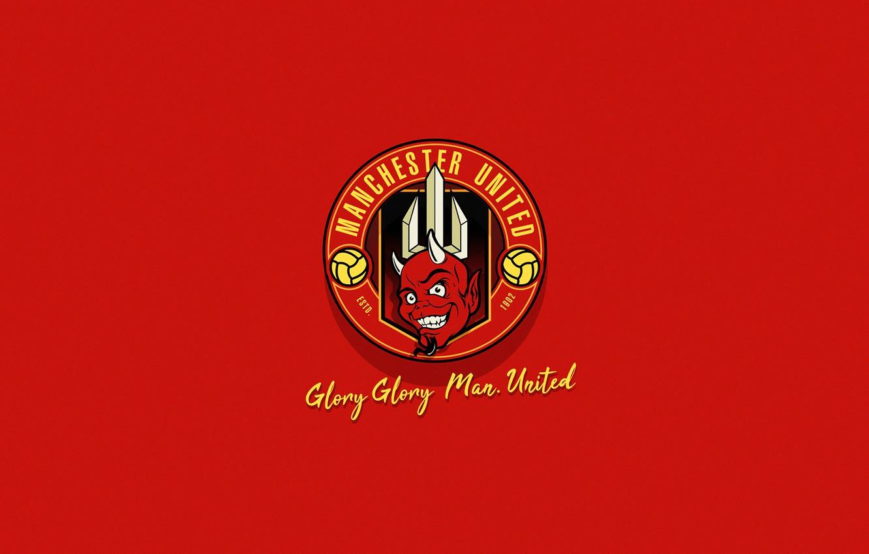 Фото лого манчестера юнайтеда red devil
